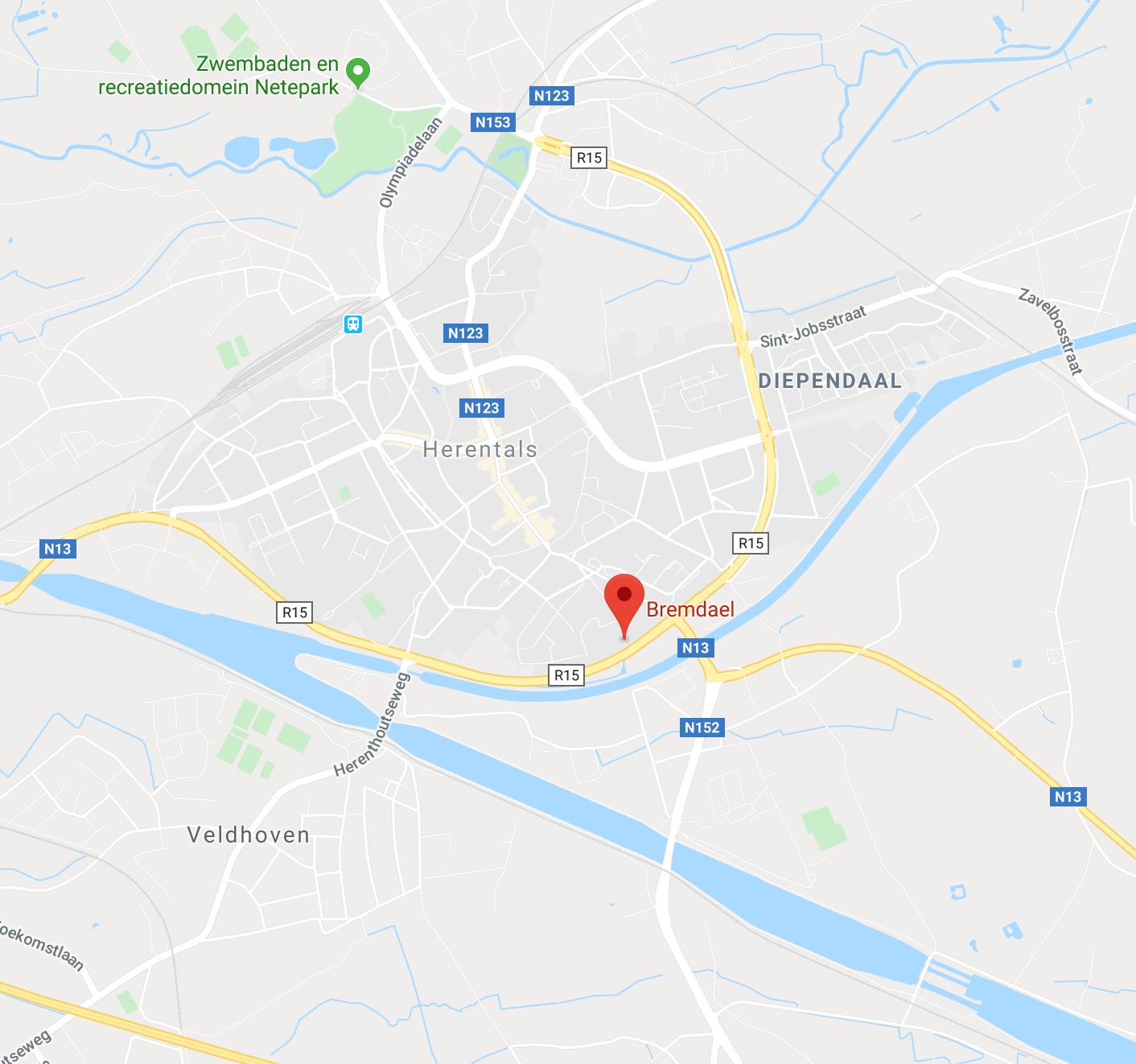 Bremdael Herentals wegwijzer